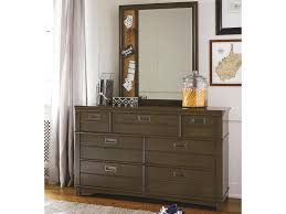 6 Drawer Dresser With Mirror by Smartstuff Varsity 6 Drawer Dresser With Memory Mirror Belfort