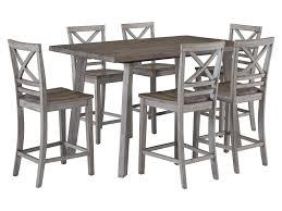 Fairhaven Rustic Table Set With Six Chairs By Standard Furniture At Wayside  Furniture Top 30 Great Expandable Kitchen Table Square Ding Chairs Unique Entzuckend Large Rustic Wood Tables Design And Depot Canterbury With 5 Bench Room Fniture Ashley Homestore Hcom Piece Counter Height And Set Rustic Wood Ding Table Set Momluvco Beautiful Abcdeleditioncom Home Inviting Ideas Nottingham Solid Black Round Dark W Custom