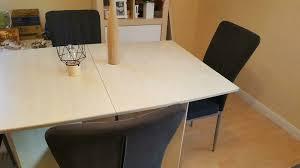 1 esszimmertisch tisch plus 4 stühle