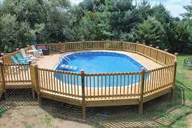 Ground Wooden Kits How To Build A Outdoor Pallet Pool Deck Ideas