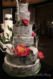 48 Best Birch Bark Wedding Cake Images On Pinterest