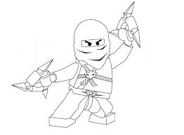 Printable Ninjago Coloring Pages