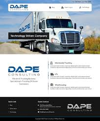 Modern, Professional, Trucking Company Web Design For Dape ... East Coast Used Truck Sales Service Trucking Inc Newark De Rays Photos Top 5 Largest Companies In The Us Kinard York Pa Averitt Express Receives 20th Consecutive Quest For Quality Award Odyssey Logistics Technology Subsidiary Linden Bulk Home Panella Khalid Hussain Facebook Gelateerde Afbeelding Ter Linden Pinterest Hot Shot