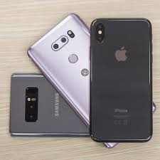 Best smartphone cameras pared iPhone X vs Galaxy Note 8 LG V30
