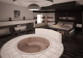 BedroomOpen Plan Couple Bedroom Decorating Ideas Awesome With Hot Tub
