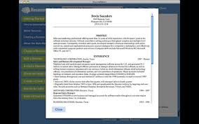 resume maker macupdate
