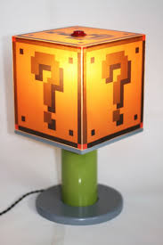 Super Mario Question Block Lamp Ebay by Mario Light Lights Game Rooms And Room