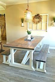 Farmhouse Dining Room Wall Decor Small Images Of Table Modern Rustic