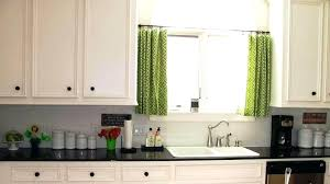 Contemporary Kitchen Curtains Image Of Traditional Style Modern Red