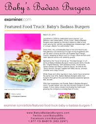 Baby Love (In The Media) - Baby's Burgers - San Diego - 844-SUN-BABE ... Curbside Eats 7 Food Trucks In Wisconsin The Bobber Salt N Pepper Truck Orange County Roaming Hunger Santa Ana Approves New Rules For Food Trucks May Also Provide 10 Best In Us To Visit On National Day Inspiration Behind Of The Coolest Roaming Streets New Regulations Truck Vending Finally Move 2018 Laceup Running Serieslexus Series Most Popular America Sol Agave Hungry Royal Dragon Dogs Hot Dog Burgers Brunch Irvine The Cut Handcrafted