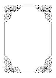 Free Vintage Clip Art Images Calligraphic Frames And Borders Blank Wedding InvitationsWedding
