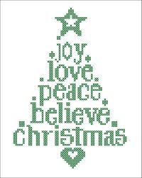 Christmas Tree Type Crossword by Bogo Free Merry Christmas Christmas Tree Joy Love Believe Peace