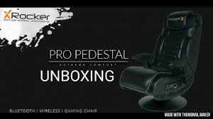 X Rocker Pro Series Pedestal Audio Wireless Gamer Chair UnBoxing ... X Rocker Gaming Chair Cadian Tire Fniture Game Luxury Best Chairs 2019 Dont Buy Before Reading This By Experts Sound Just Sit There Start Rocking Recling Pc Xbox One Xrocker 5127301 The Ign Fablesncom Page 2 Of 110 Brings You Detailed Ii Se 21 Wireless Black 51273 Wayfair Torque Audio Pedestal At John Lewis For Adults Home Decoration 5125401 Bluetooth Audi Video