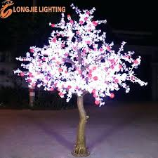 White Outdoor Lighted Trees Light Up Christmas Tree 6 Green Led