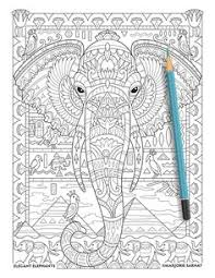 Amazon Creative Animals Coloring Book For Adults 9781530314713 Juliana
