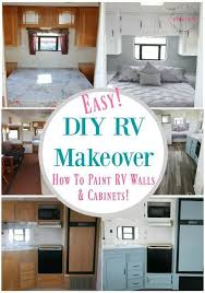 Nuvo Cabinet Paint Video by 25 Unique Rv Cabinets Ideas On Pinterest Camper Renovation