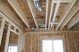 Distance Between Floor Joists Canada by Cutting Hole For Vent In 2nd Floor Rim Joist Doityourself Com