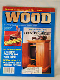 104 Wood Homes Magazine Better And Gardens Vintage February 1994 And November 1996 Books S Craft Supplies Tools Efp Osteology Org