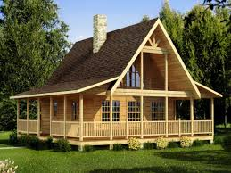 Small House Plans Under Sq Ft Chalet With Loft Kit Homes Modular Lake Cabin Simple Log