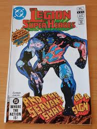 The Legion Of Super Heroes 290 Aug 1982 DC