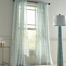 Pier 1 Imports Curtains by Highlife Sheer Blue Curtain Pier 1 Imports