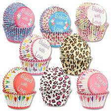 Baking Cases Foil Lined Cupcake