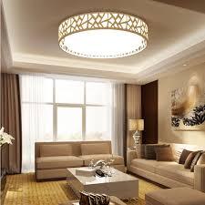 led modern ceiling light creative white living room l