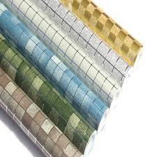 hohe temperatur öl aufkleber küche selbstklebende folie aufkleber wasserdicht bad mosaik fliesen wallpaper für wände 3d