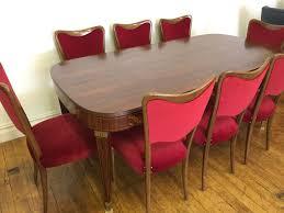 New! Osvaldo Borsani Dining Room Chairs Italian Design 1940s ...