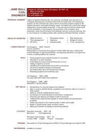 Sample Civil Engineering Resume Canada Engineer Construction Project Amazing It Cover