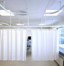 Ceiling Mount Curtain Track Bendable by Ceiling Mount Curtain Track Flexible Canvas Hospital Ikea In White