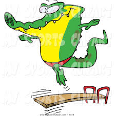 Diving Clipart Board Sports Clip Art Of Png Transparent