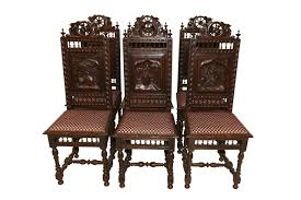 Antique Chairs|French Dining Chairs|Dining Chairs Tiger Oak Fniture Antique 1900 S Tiger Oak Round Pedestal With Ding Chairs French Gothic Set 6 Wood Leather 4 Victorian Pressed Spindle Back Circa Room 1900s For Sale At Pamono Antique Ding Chairs Of Eight Chippendale Style Mahogany 10 Arts Crafts Seats C1900 Glagow Antiques Atlas Edwardian Queen Anne Revival Table 8 Early Sets 001940s Extendable With Ball Claw Feet Idenfication Guide