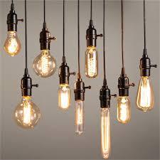 all filament bulbs are e27 edison l base and are 40w