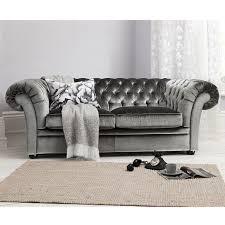 Tufted Velvet Sofa Toronto by Elegant Grey Velvet Tufted Sofa Interior Design Within Grey Velvet