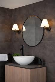 wandleuchte badezimmer 1xg9 ip44 schwarz