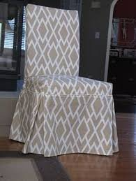 tutorial how to sew parsons chair slipcovers includes pattern to