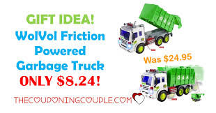 GIFT IDEA! WolVol Friction Powered Garbage Truck ONLY $8.24 ... Matchbox Big Rig Buddies Scrap Yard Adventure Playset Review Real Workin Talking Garbage Truck Mr Dusty Toysrus Gift Idea Wvol Friction Powered Only 824 Amazoncom Sweep N Keep Toys Games Mattel Stinky The Kids Interactive Sing The Walmartcom Salvage Transformers Rescue Stinky Garbage Truck In Blyth Northumberland Gumtree Hobbies Tv Movie Character Find Target Best In Word 2017