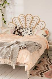 Beachy Headboards Beach Theme Guest Bedroom With Diy Wood by Best 25 Rattan Headboard Ideas On Pinterest Add To Wishlist
