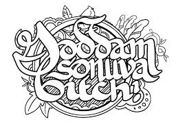 Adult Swear Words Humor Coloring Pages