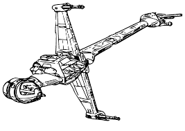 Space Ship Star Wars Coloring Pages