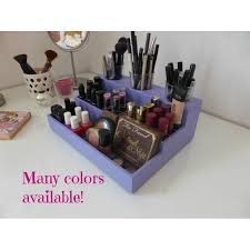 organizer makeup display many colours available designed for