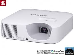 casio xj v100w projector