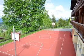 terrain de basket exterieur de basket