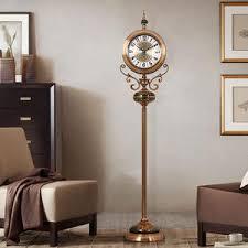vertikale wohnzimmer uhr ornamente uhr dekoration station große pendel boden uhren