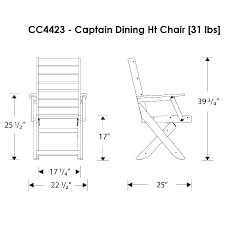 Dining Chair Height Dimensions Of A Captain Average Cm Room Chairs Seat Standard Table