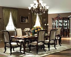 Formal Dining Room Table Sets Black Furniture Luxury