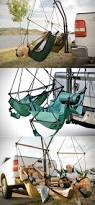 Trailer Hitch Hammock Chair By Hammaka by Forget Lawn Chairs The Trailer Hitch Hammock Lets You Kick Back