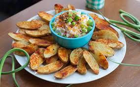 cuisiner des pommes de terre ratte pommes de terre rattes rôties et trempette bacon cheddar
