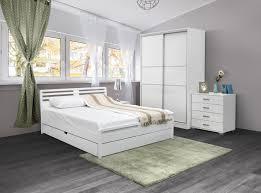schlafzimmer komplett set g pontevedra 6 teilig teilmassiv farbe weiß